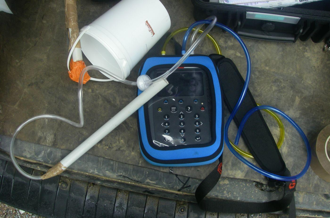 Analyseur de biogaz (CO2, CH4, O2, H2S)