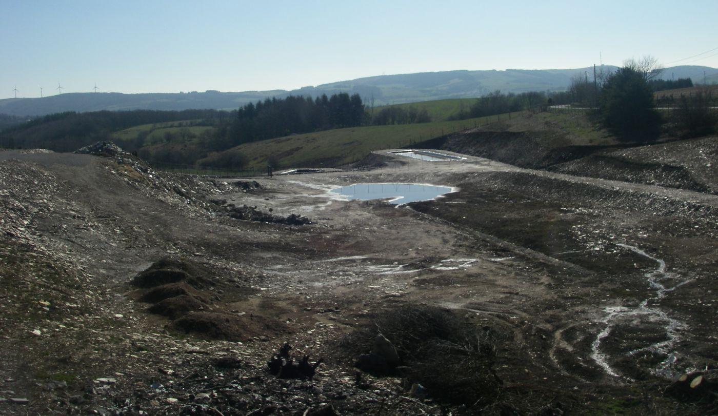 Dossier de demande d'exploitation - Création d'un casier de stockage de déchets amiantés (Aveyron -12)