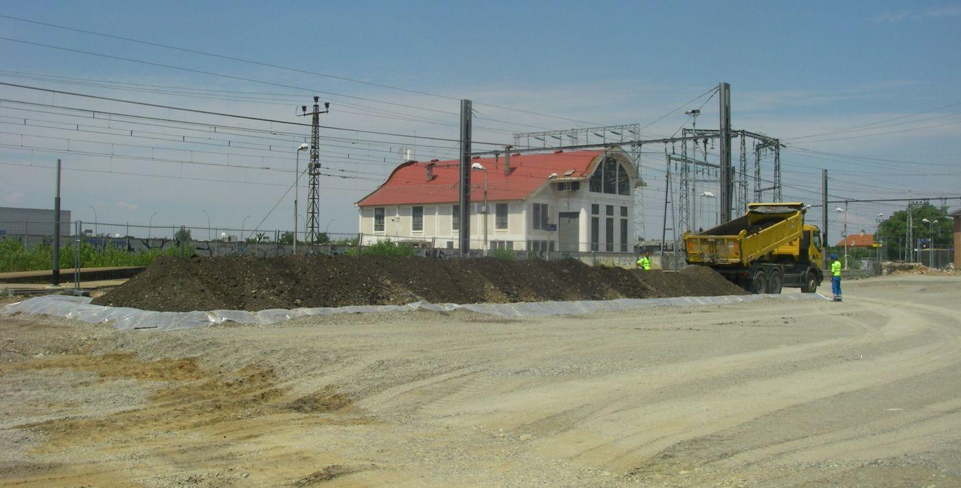 Mission EVAL, plan de gestion et maitrise d'oeuvre de dépollution - Gare (Haute Garonne -31)